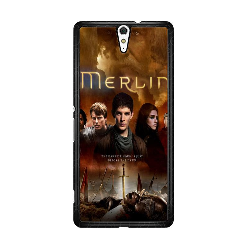 Flazzstore Merlin Fantasy Adventure Television Z0556 Custom Casing for Sony Xperia C5 Ultra