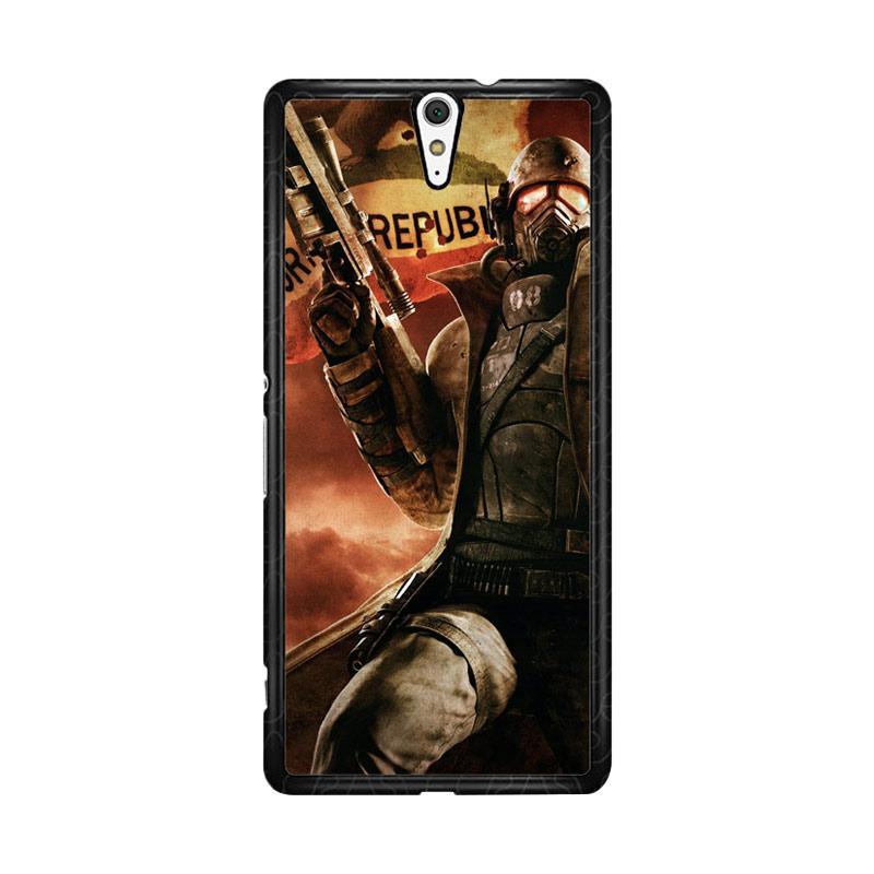 Flazzstore Fallout New California Republic Z1240 Custom Casing for Sony Xperia C5 Ultra