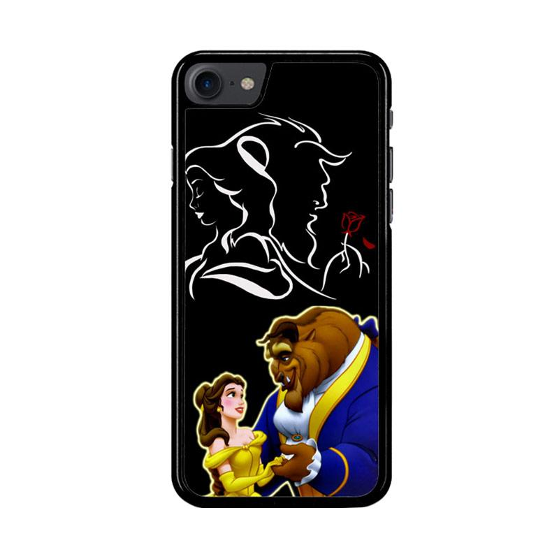 Flazzstore Disney Beauty And The Beast  Z2973 Custom Casing for iPhone 7 or 8