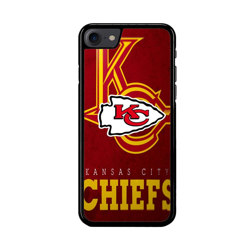 Flazzstore Kansas City Chiefs Z3011 Custom Casing for iPhone 7 or iPhone 8