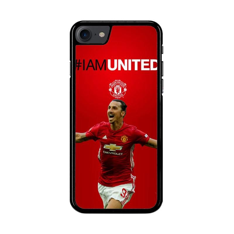 Flazzstore Ibrahimovic Manchester United Z39670 Custom Casing for iPhone 7 or 8