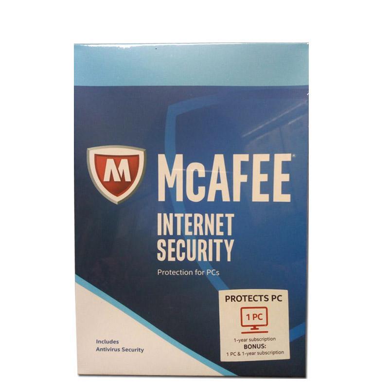 WEB_McAfee Internet Security 1 User + 1 User
