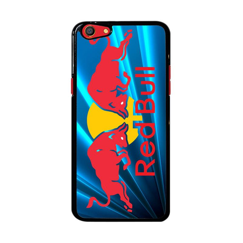 Flazzstore Red Bull Logo Z3229 Custom Casing for Oppo F3