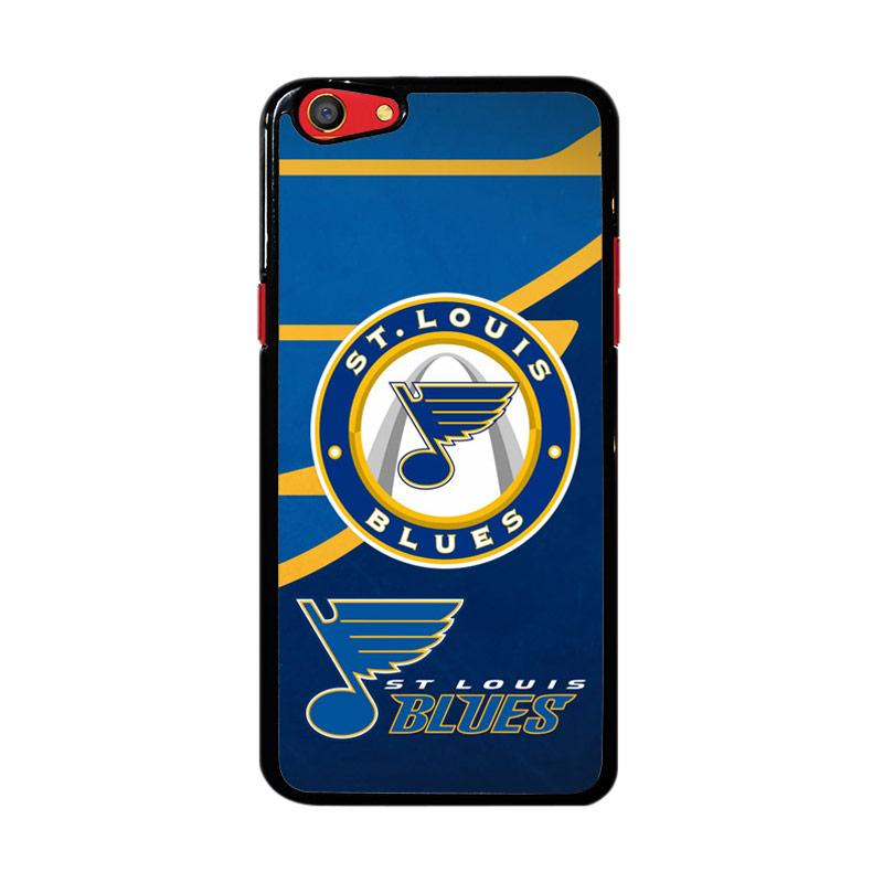 Flazzstore St Louis Blues Logo Z3363 Custom Casing for Oppo F3