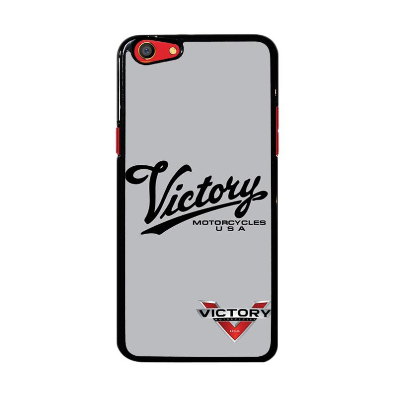 Flazzstore Victory Motorcycles Logo Z3878 Custom Casing for Oppo F3