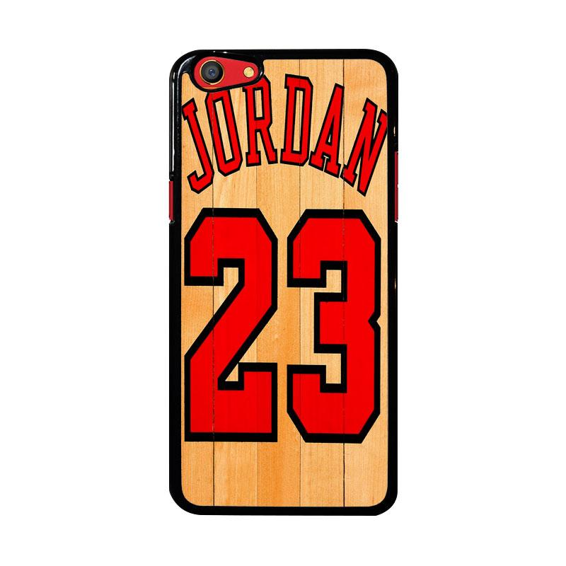 Flazzstore Michael Jordan 23 Wood Z4258 Custom Casing for Oppo F3