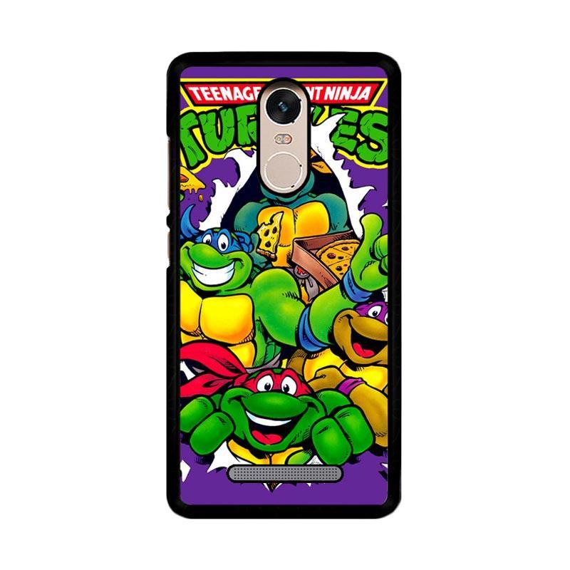 Flazzstore Teenage Mutant Ninja Turtles Z1636 Custom Casing for Xiaomi Redmi Note 3 or Note 3 Pro