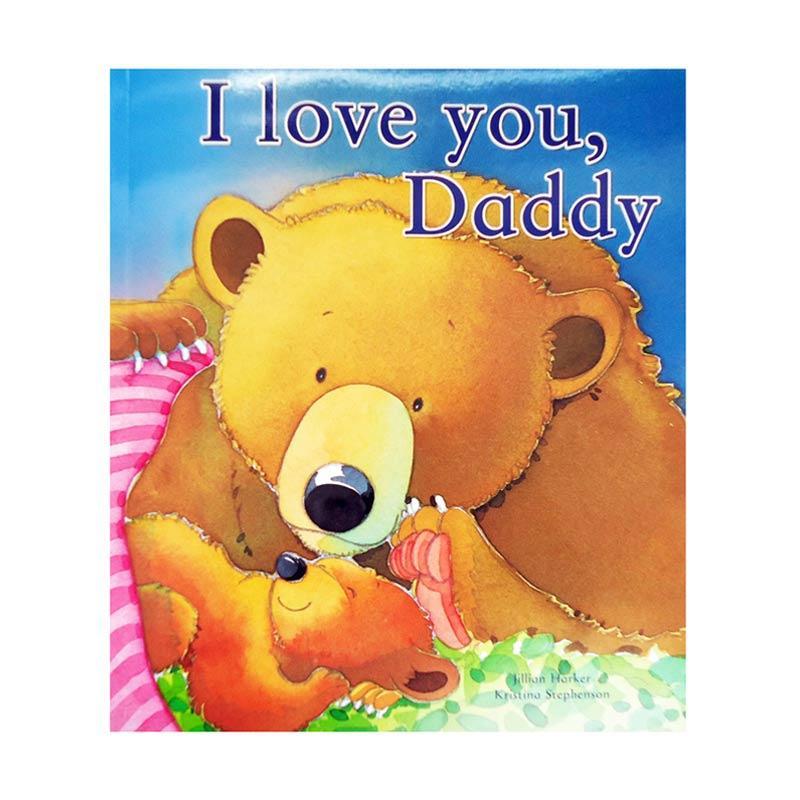 Genius I Love You, Daddy Paperback Book Buku Edukasi Anak