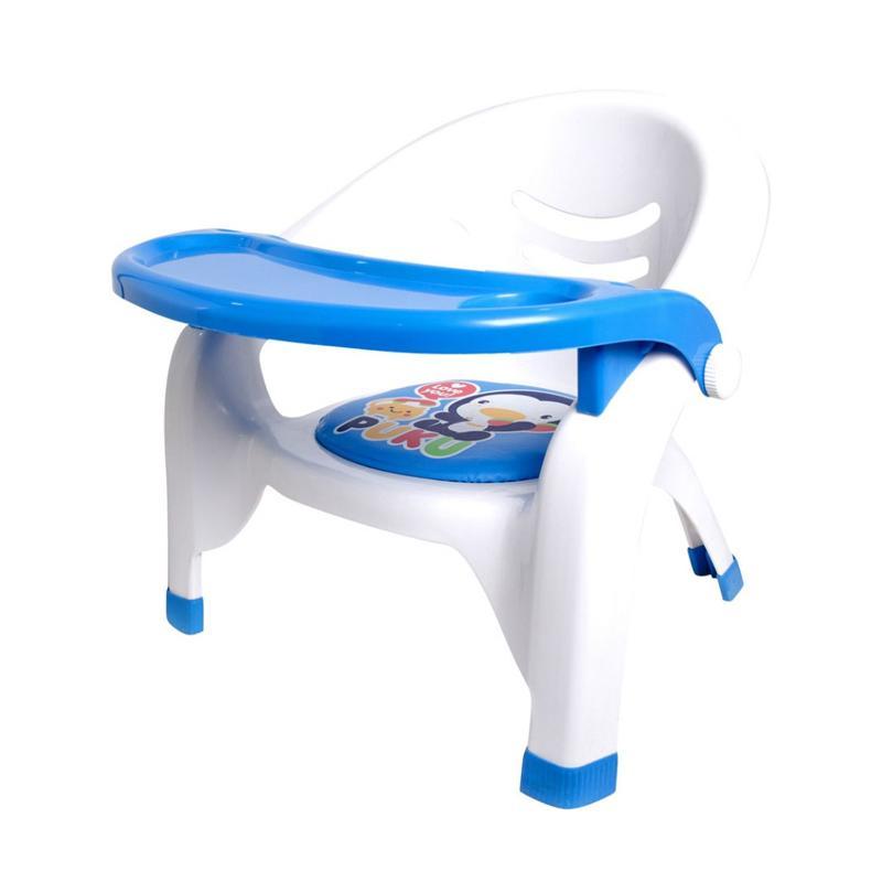Puku 30312 Baby Plastic Arm Chair Kursi Makan Bayi - Blue