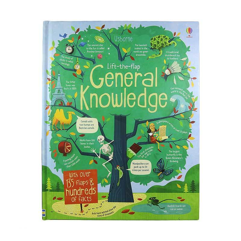 Usborne Books Lift-the-flap General Knowledge Buku Anak