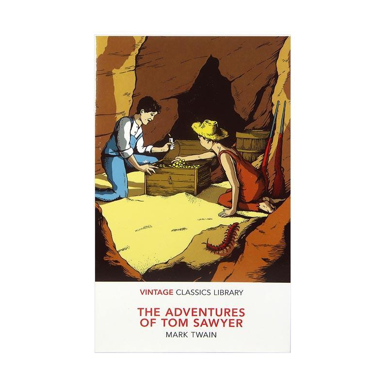 Vintage Classics The Adventures Of Tom Sawyer by Mark Twain Buku Fiksi