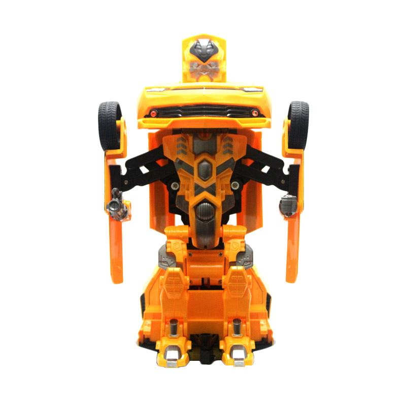 Yoyo Transformer Bumble Bee Car Mainan Remote Control