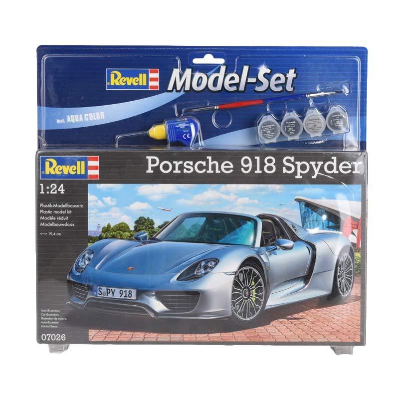 Revell Model Set Porsche 918 Spyder Model Kit [1 : 24]