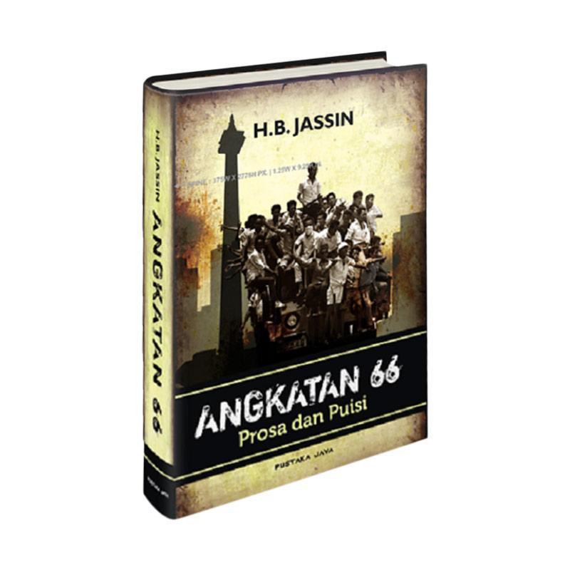 Pustaka Jaya Angkatan 66 Prosa dan Puisi by H. B. Jassin Buku Edukasi Sejarah