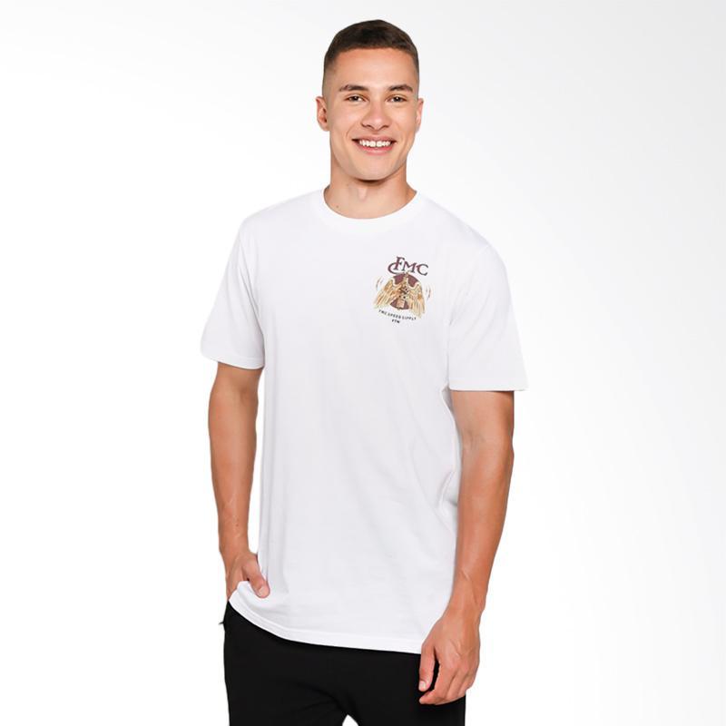 FMC 0611 Tshirt Pria - White