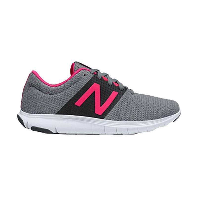 New Balance New Koze V1 Sepatu Lari Wanita - Grey Pink [WKOZELG1]