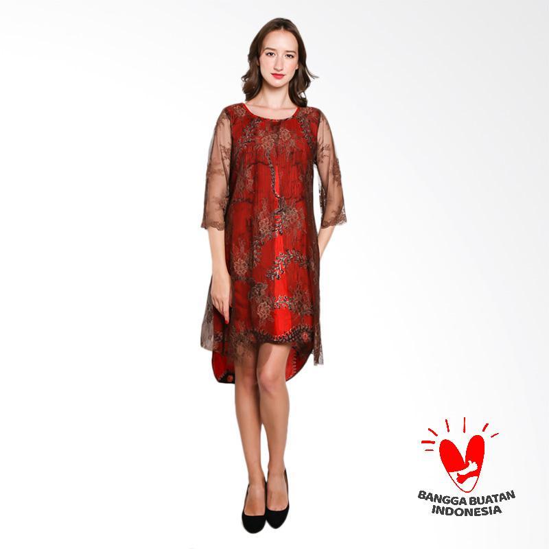 harga Lombang Batik Tangan 3/4 Brukat Dress Blibli.com