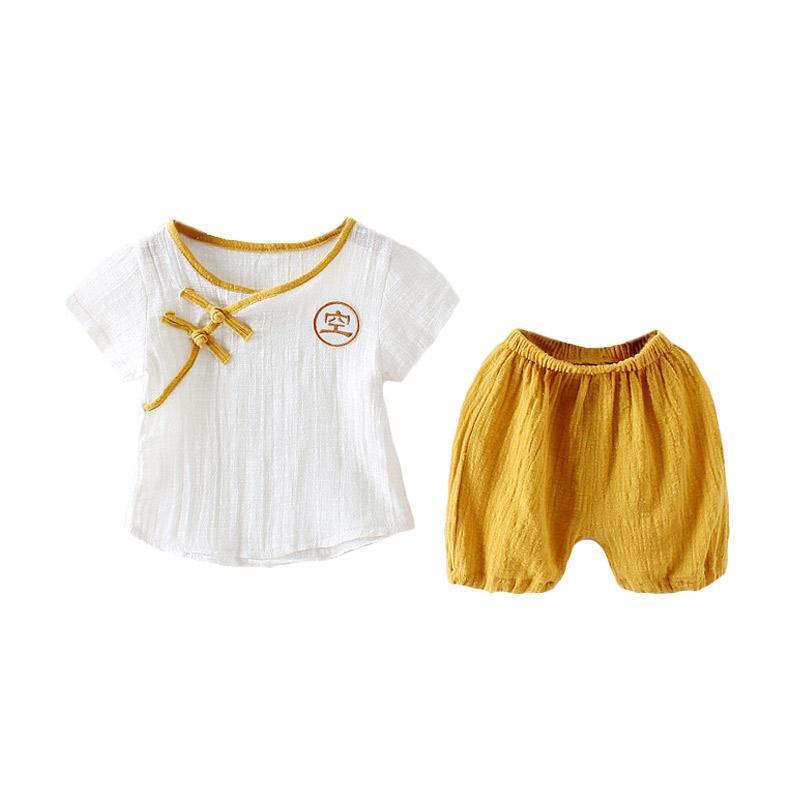 Abby Baby CNY Set Pakaian Anak - Yellow