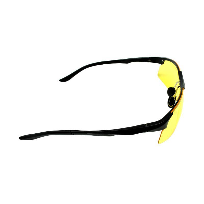 Harga iSports Lensa Mercury Kacamata Sepeda - Black Yellow Murah | Dokuprice.com