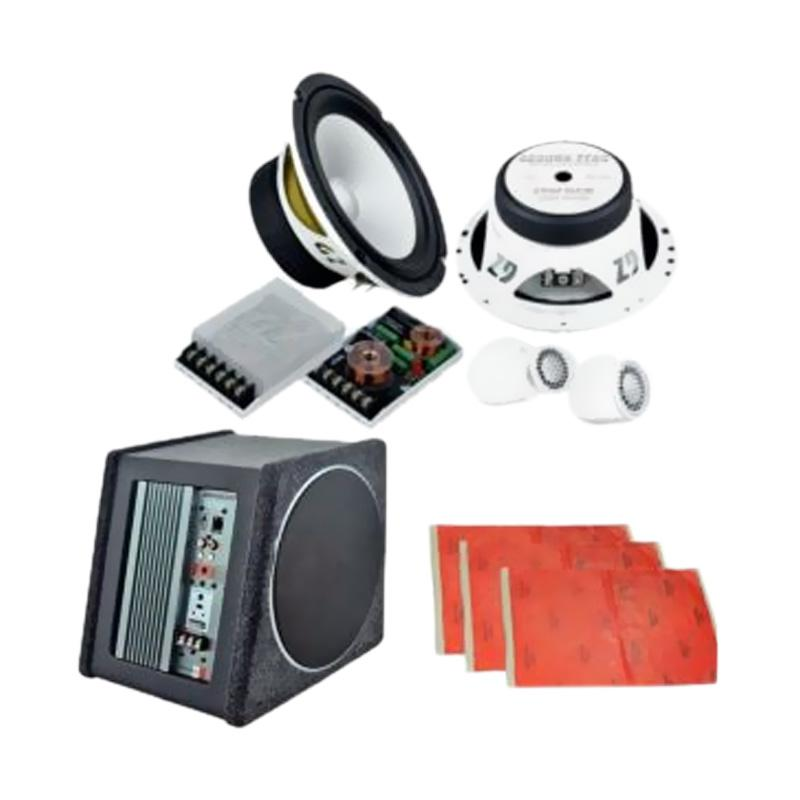 harga Ground Zero Paket Audio Speaker dan Subwoofer Aktif Box [E] Blibli.com