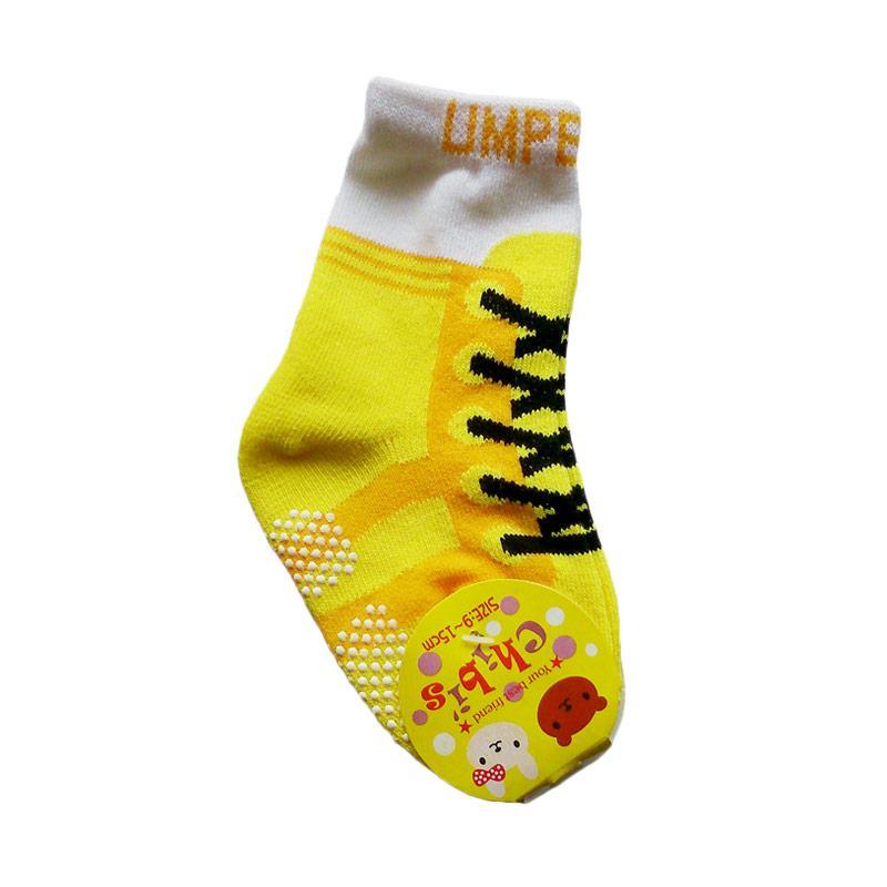 Samgami Motif Kets Pirate Kaos Kaki Anak - Yellow [9-15 cm]