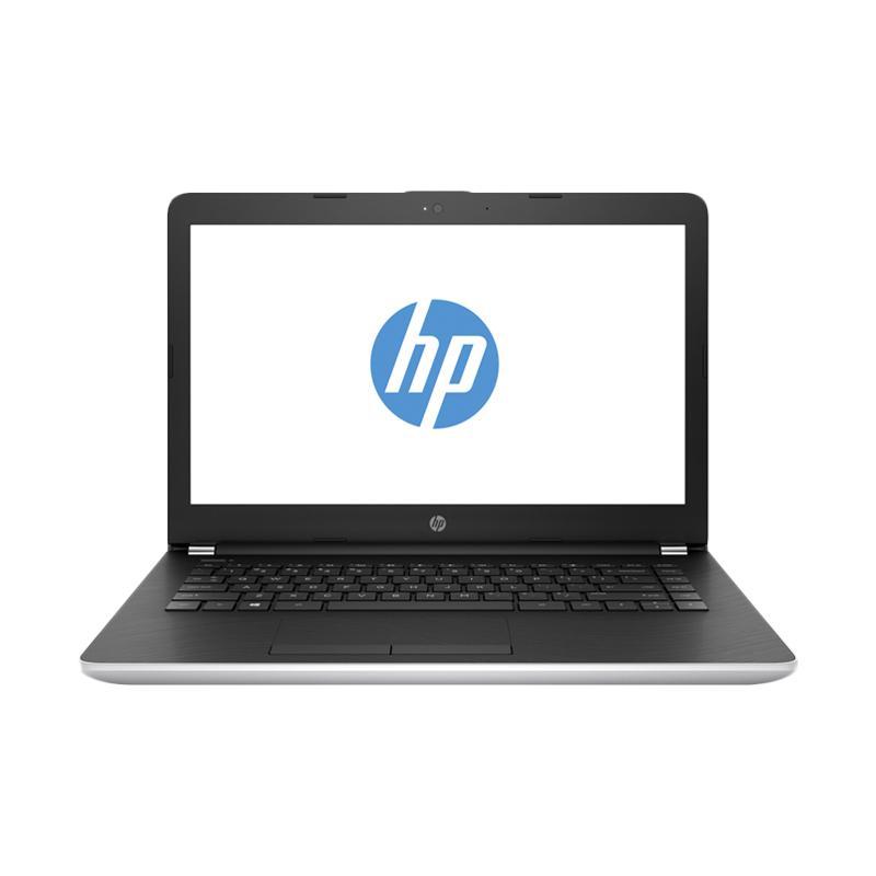 harga HP 14-BS128TX Notebook - Silver [14 Inch HD/ i5-8250U/ 4 GB/ 1 TB/VGA 2GB /Win 10] Blibli.com