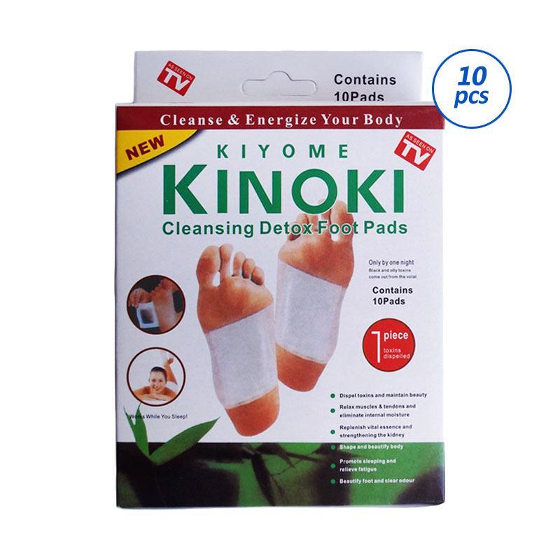 Kinoki Foot Patch Koyo Detox - Putih [10 Set]