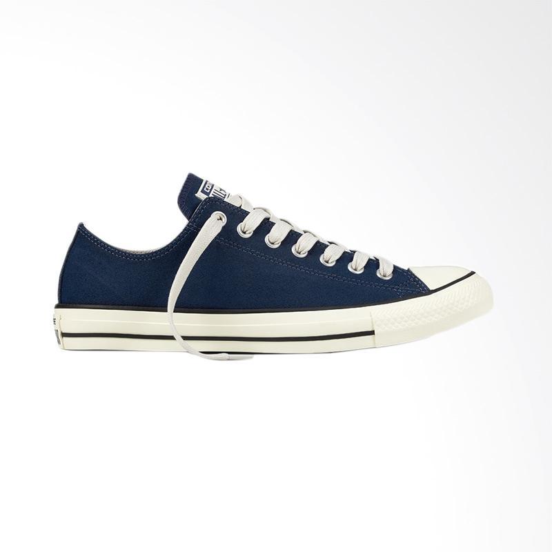 harga Converse Ox Chuck Taylor All Star Sneaker Sepatu Pria - Blue Blibli.com