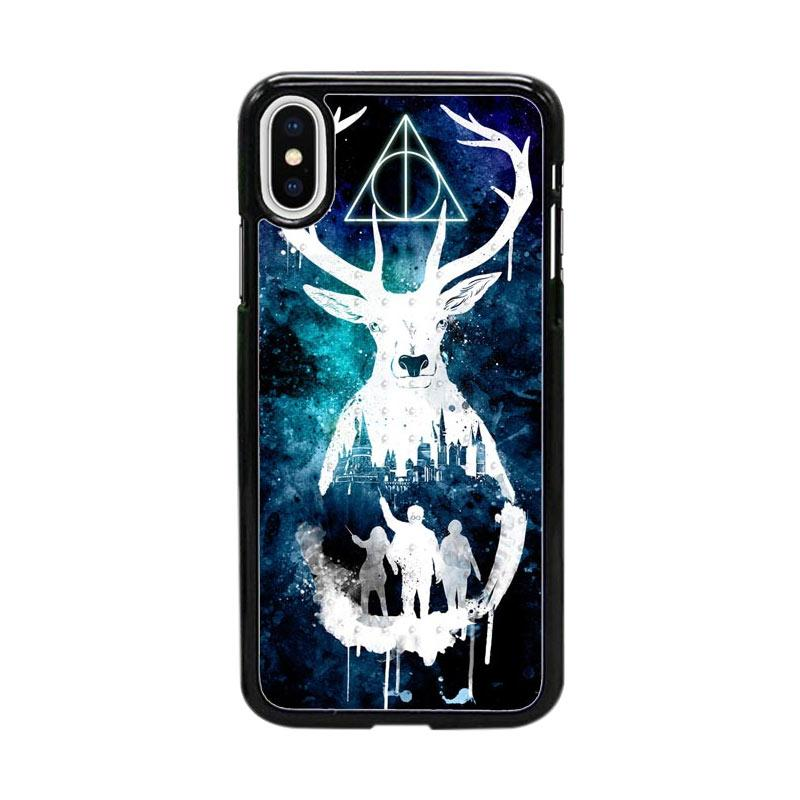 Acc Hp Harry Potter Logo W0012 Custom Casing for iPhone X