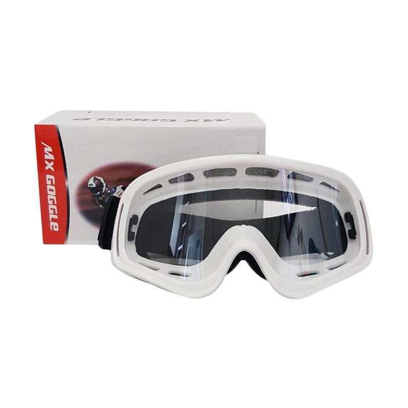 harga Goggle MX Kacamata Motocross - Putih Blibli.com