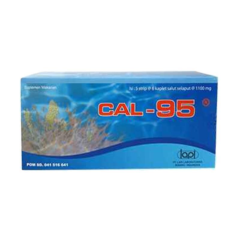 Jual Lapi CAL-95 Suplemen [30 Kaplet] Online - Harga & Kualitas Terjamin | Blibli.com