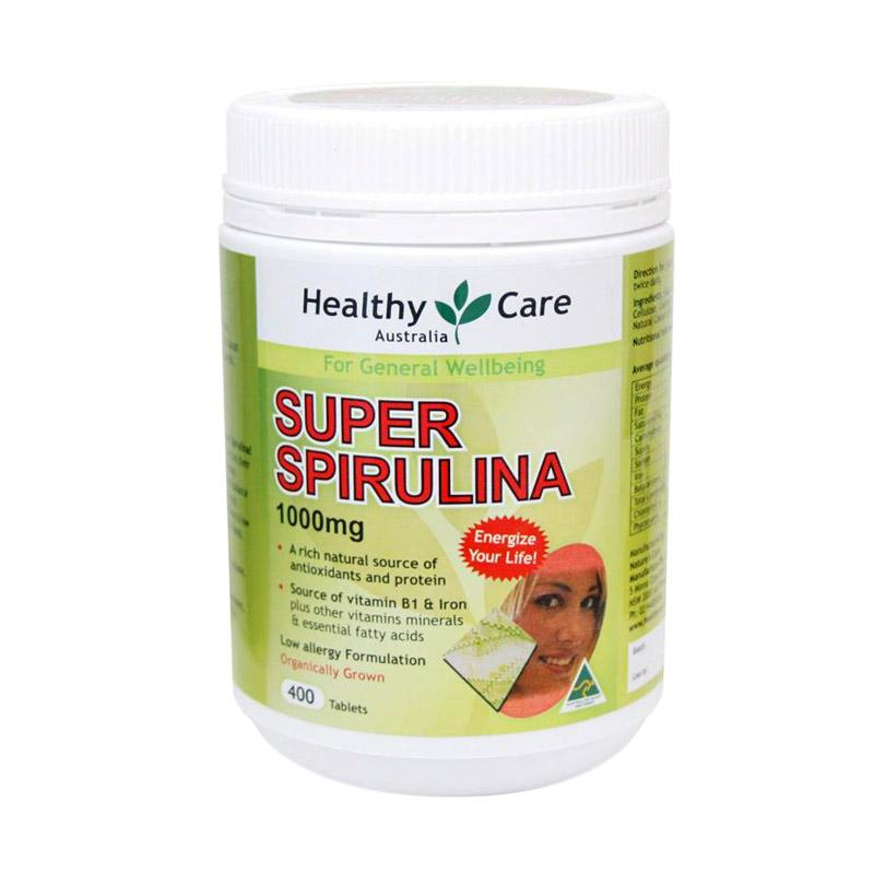 Jual Healthy Care Super Spirulina 400 Suplemen Online Januari 2021 Blibli