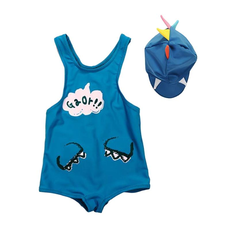 Abby Baby Dino Swimwear Baju Renang Anak