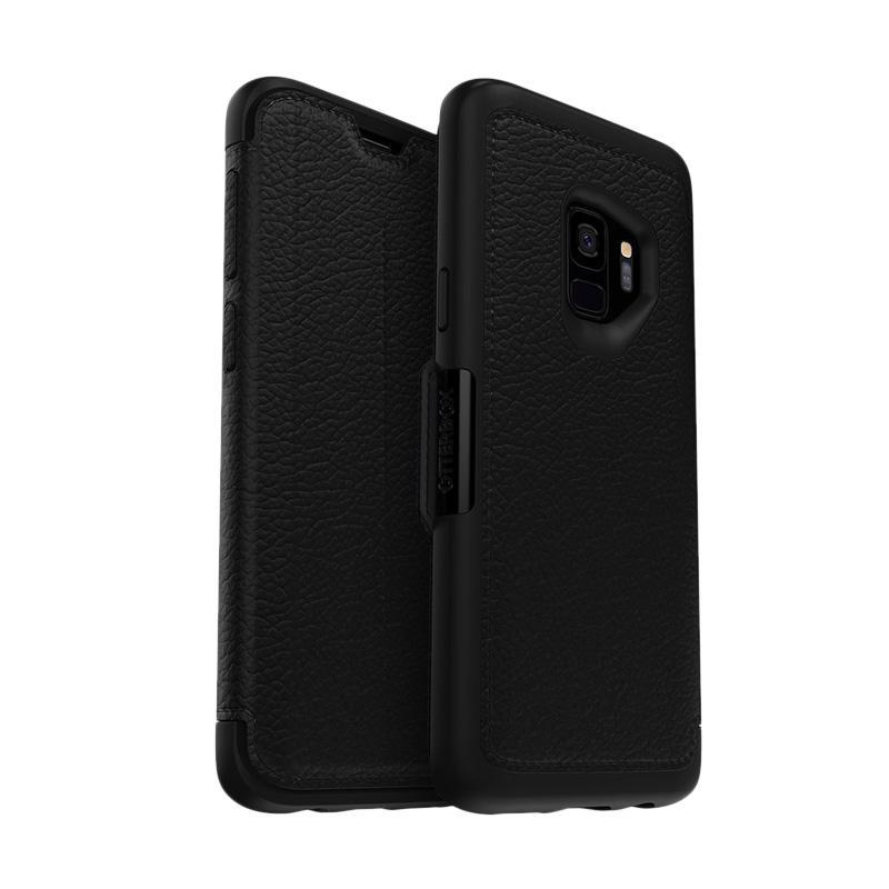 harga OtterBox Strada Shadow Casing for Samsung Galaxy S9 - Black Pewter Blibli.com