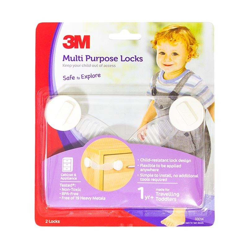 3M SC-41 Multi Purpose Locks Child Pengaman Serba Guna