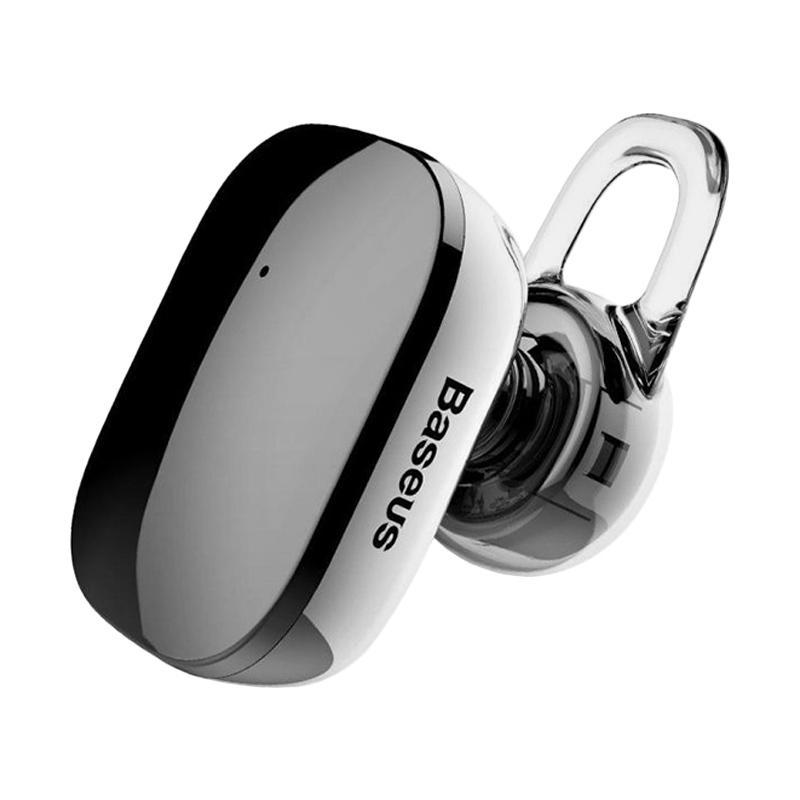 Baseus Encok A02 Mini Wireless Bluetooth Earphone for iPhone 5/ iPhone 6/ iphone 7/ Samsung S8 - Black