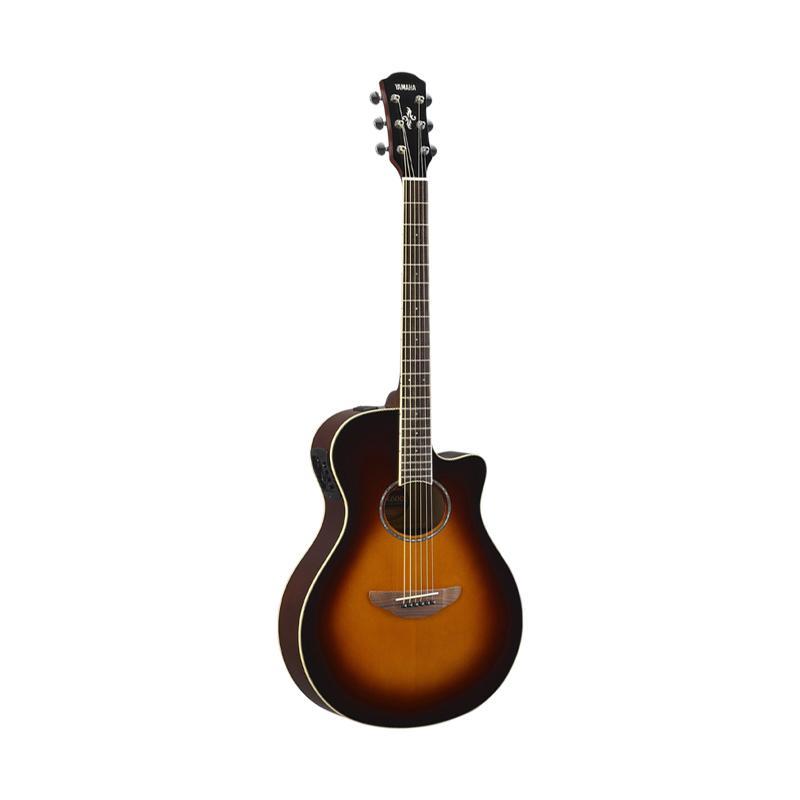 Yamaha APX 600 Gitar Akustik Elektrik - Old Violin Sunburst