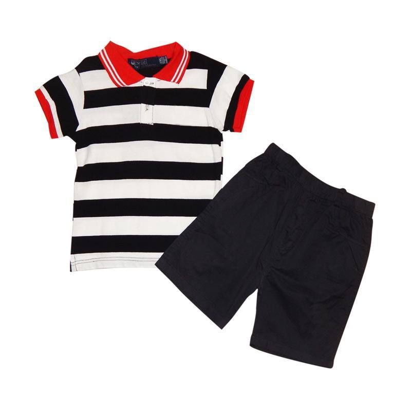 Wonderland Stripe Setelan Baju Anak