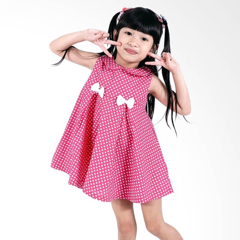 Kids Icon With Bow Detail Dress Anak Perempuan Brand Kids Icon 2 ulasan produk