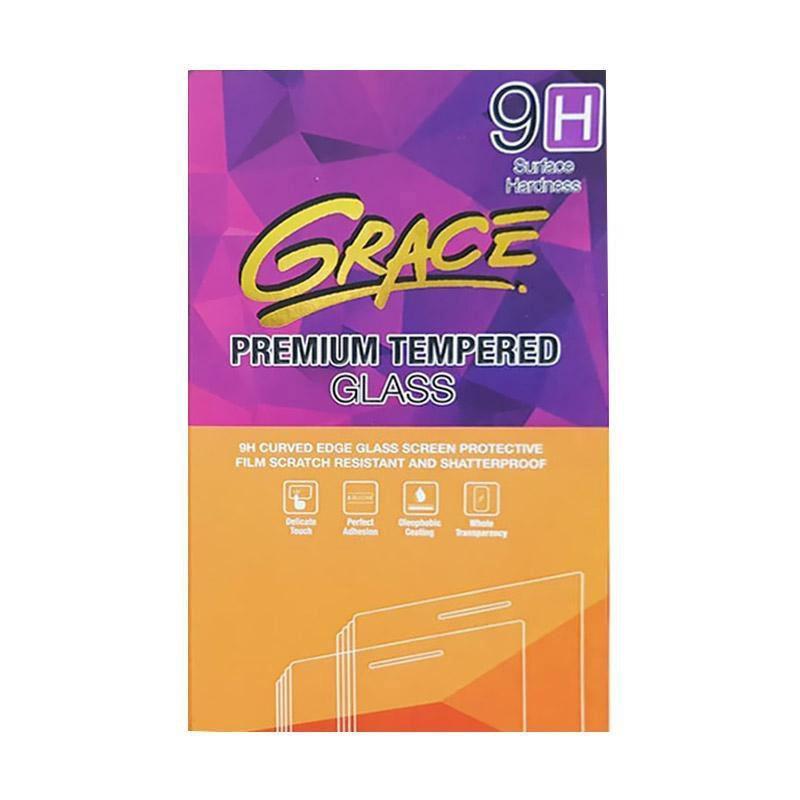 harga Grace Premium Tempered glass Screen Protector for Apple iPhone 7 or 7s - Lis Putih [Full Screen/ Full Glue 2018] Blibli.com