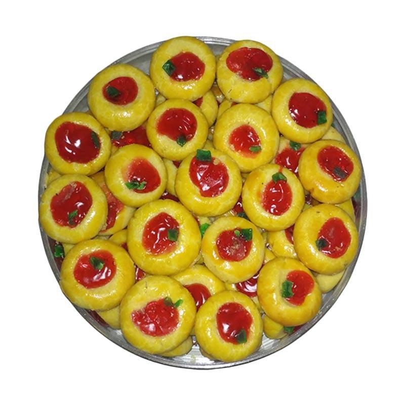 Merry Cake Nastar Wisman Strawberry Kue Kering