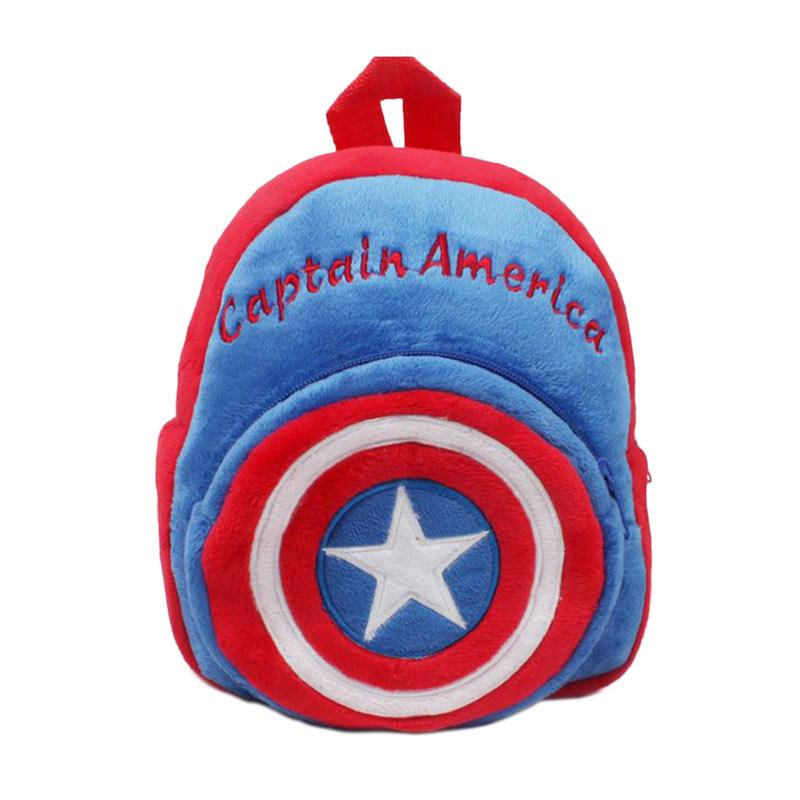 Celengan Tabungan Kaleng Karakter Hero Captain America Daftar Source · TWD Karakter Kartun Captain America Tas Sekolah Anak Blue