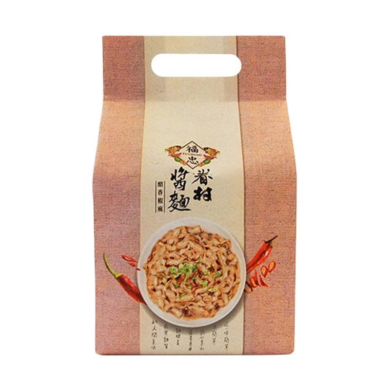 harga Fu Chung Village Spicy Sichuan Pepper and Vinegar Flavor Taiwan Dried Noodles [115 g/4 pcs] Blibli.com