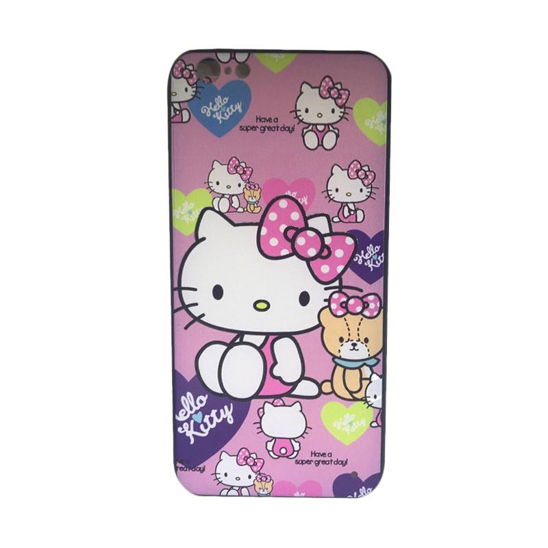 harga JV ACC Fuze Motif Hello Kitty Kode 6  Silicon Casing for iPhone 6 Plus Blibli.com