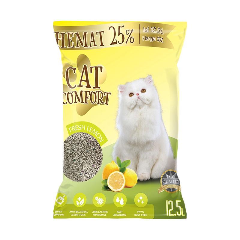 Cat Comfort Lemon Pasir Kucing