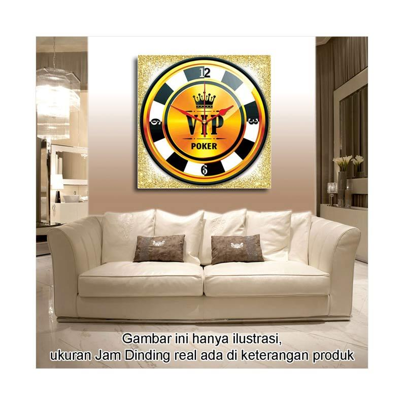 Jual Ikea Vintage Emas Poker Jam Dinding 40 X 40 Cm Online Maret 2021 Blibli