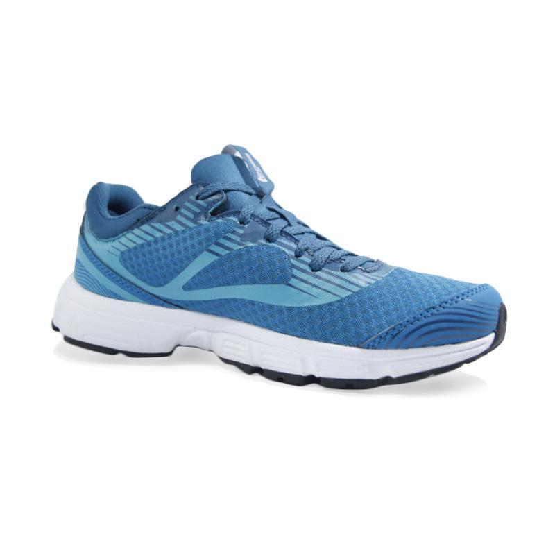 League Women Legas Series Velt LA Sepatu Lari Wanita Blue