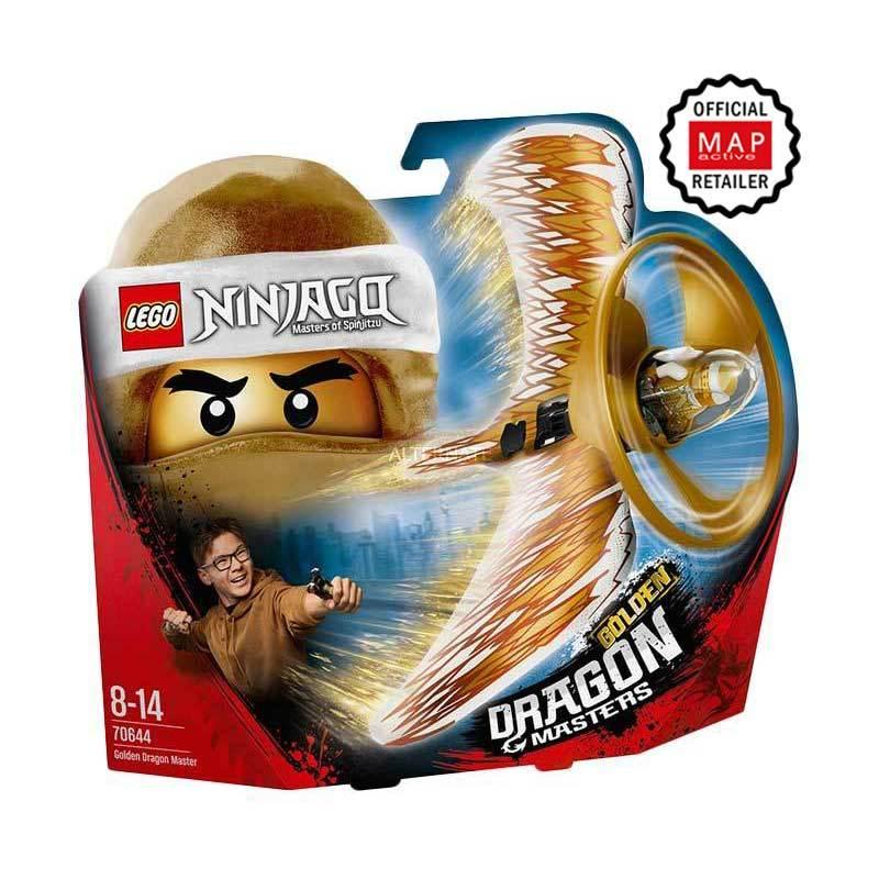 Lego ninjago gold dragon golden dragon qualities