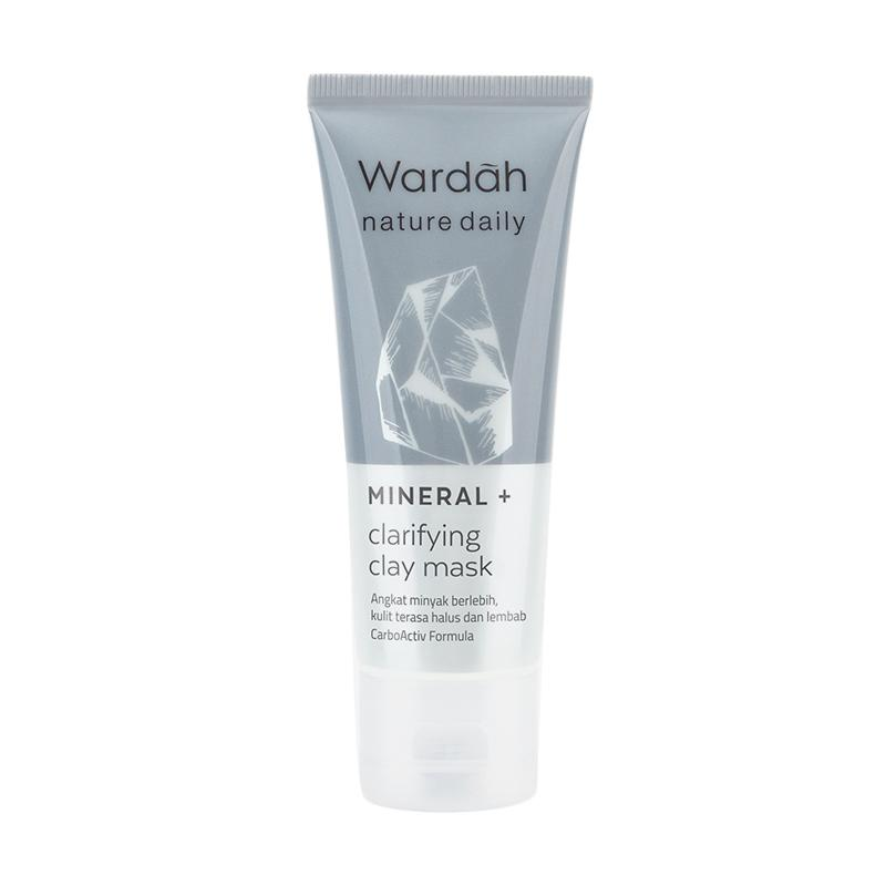 Wardah Nature Daily Mineral Clarifying Clay Mask