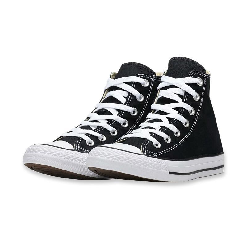 Converse Chuck Taylor All Star Sepatu Sneaker Pria Hitam Putih